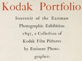 Title Page: Eastman Photographic Exhibition 1897