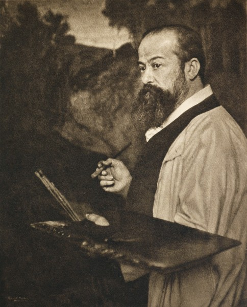 Untitled Portrait of a Painter