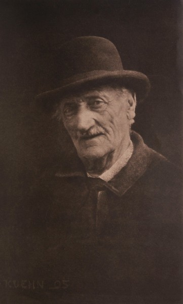 Untitled Portrait of Gentleman Wearing a Hat