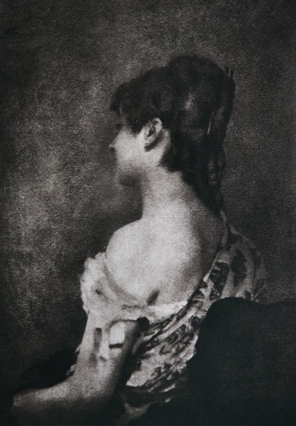 Untitled Bare-Shouldered Portrait of Young Woman