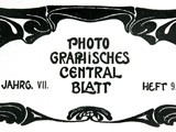Artistic Landscape Photography: Photographisches Centralblatt,  May 1901