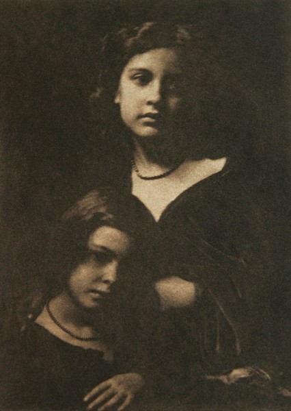 Untitled Portrait of Two Girls
