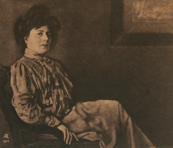 Untitled Portrait of Seated Woman