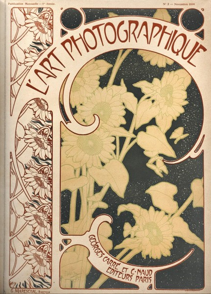 Journal Cover: L'Art Photographique 1899-1900