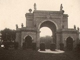 Arch of the Four Winds at Villa Doria Pamphili