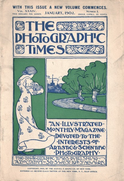 Cover: The Photographic Times: 1902