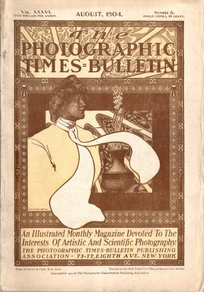 Cover: The Photographic Times-Bulletin : 1904