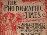 Cover: The Photographic Times: April, 1898
