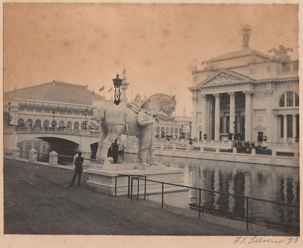 Statue of Industry: World's Columbian Exposition
