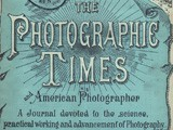 Cover: The Photographic Times: 1888