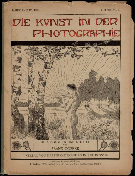 Journal Cover: Die Kunst in der Photographie: 1897-1903