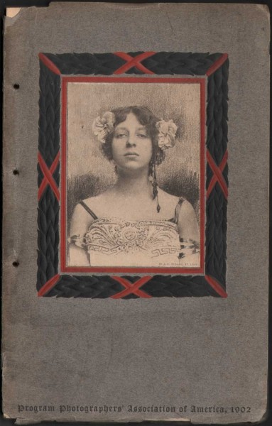 Program Cover: Lytrit style portrait by Strauss