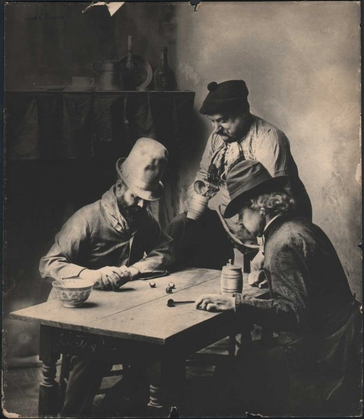 The Dice Players