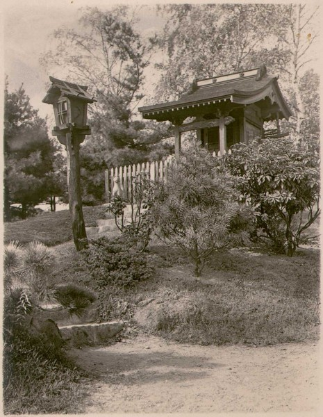 Shinto Shrine at Japanese Hill-and-Pond Garden