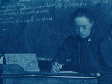 Schoolteacher at Desk