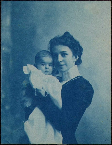 Baby Dorothy Tucker with Mother