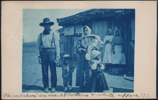 Mexican Family in Sweetwater, Texas
