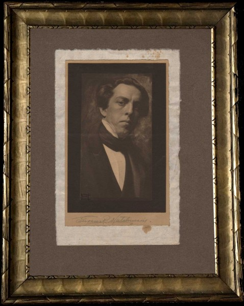 Eugene R. Hutchinson Self-Portrait