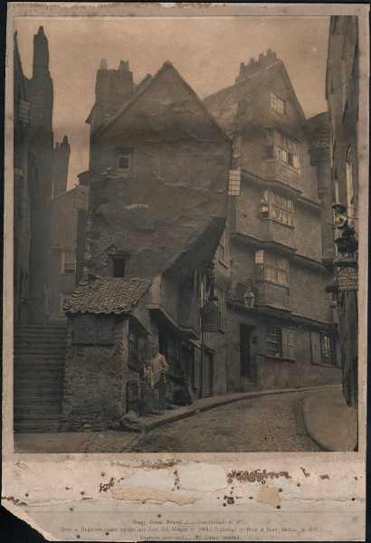 Steep Street, Bristol ⎯ Demolished in 1871