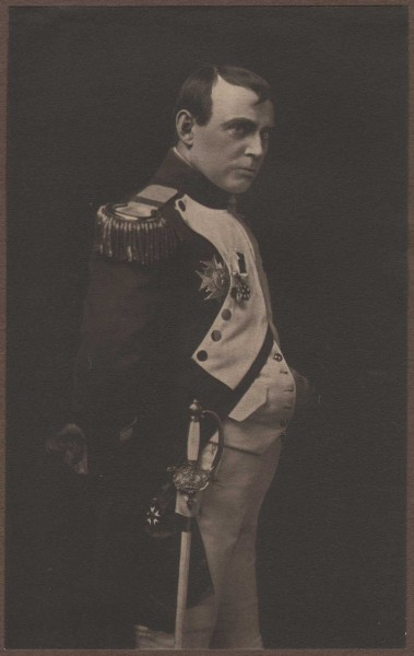 Chas. B. Welles as Napoleon
