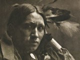 Eine Sioux-Indianerin (Plenty Wounds)