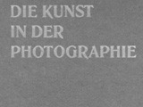 Journal Cover: Die Kunst in der Photographie: 1908