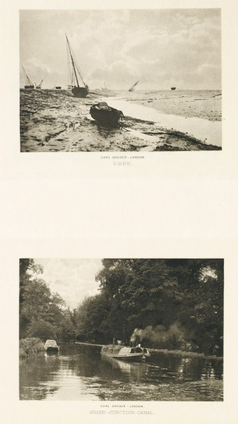 Diptych: Ebbe & Grand Junction Canal