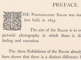 Preface: Pictorial Photographs 1895