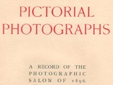Title Page: Pictorial Photographs 1896