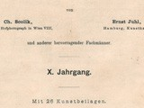 Title page:  Photographische Rundschau- 1896