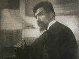 Portrait: Artist  Jan Toorop