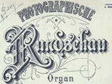 Journal cover:  Photographische Rundschau- 1894