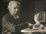 Unidentified Artist with Sculptural bust