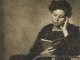 Unidentified Woman Reading a Book
