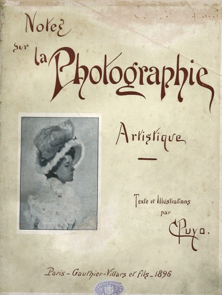 Volume Cover: Notes sur La Photographie Artistique