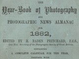 Cover: The Year-Book of Photography and Photographic News Almanac for 1882
