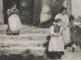 Untitled View of Children Descending Stairs