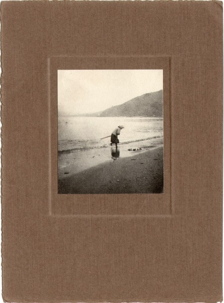 Woman on Shoreline