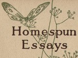 Volume Cover: Homespun Essays
