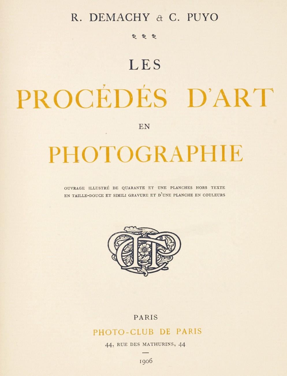 Souvent Les Procédés D'Art en Photographie | PhotoSeed BB73