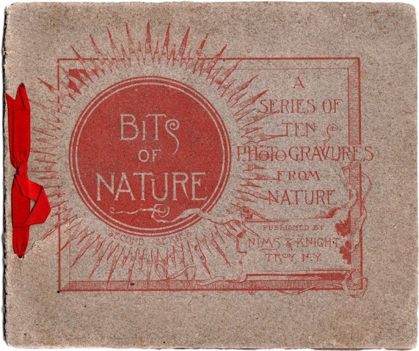 Cover: Bits of Nature: A Series of Ten Photogravures from Nature
