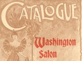 Catalogue: Washington Salon and Art Photographic Exhibition of 1896