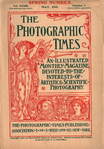 Cover: The Photographic Times: 1901