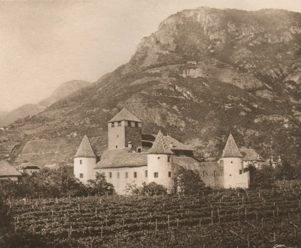 An Old Castle in Southern Tyrol