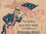 Venus brand Blue Print Paper Box Cover