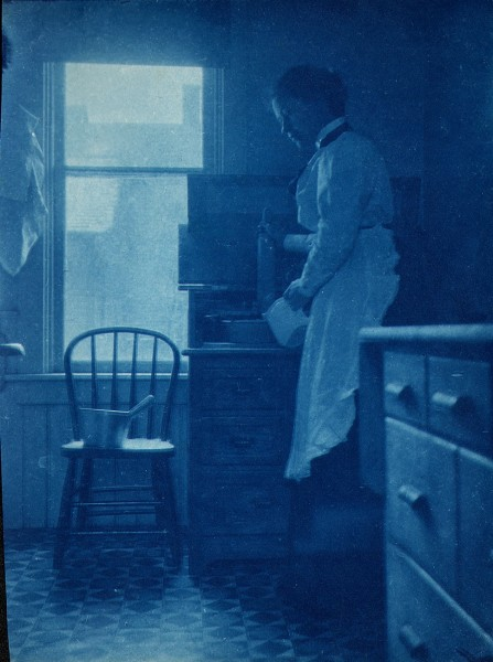 Woman in Kitchen Study