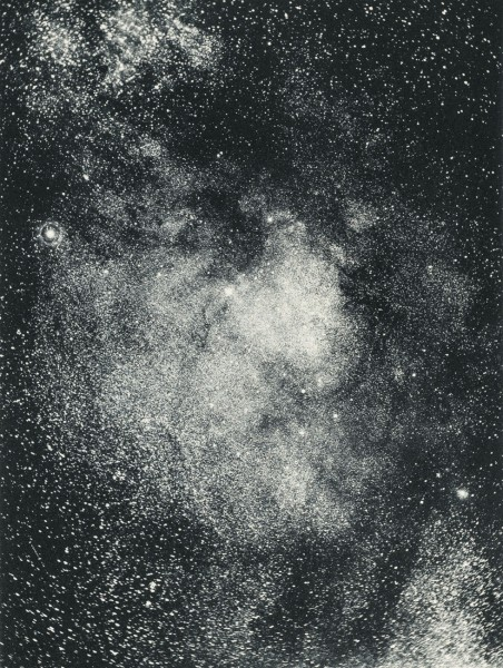 Star Cloud in the Milky Way