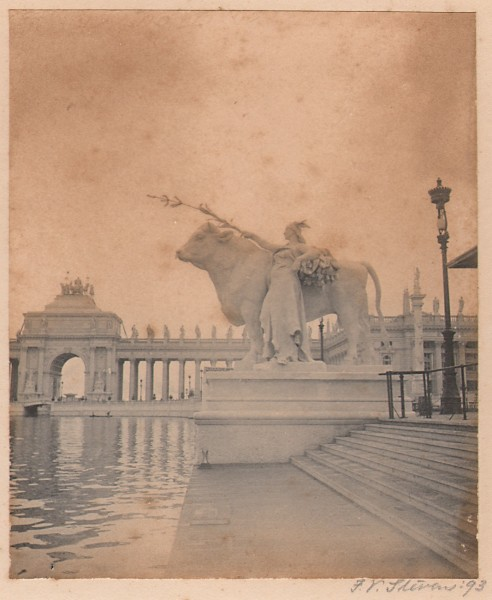 Statue of Plenty: World's Columbian Exposition