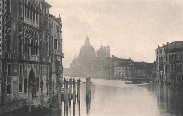On the Grand Canal, Venice