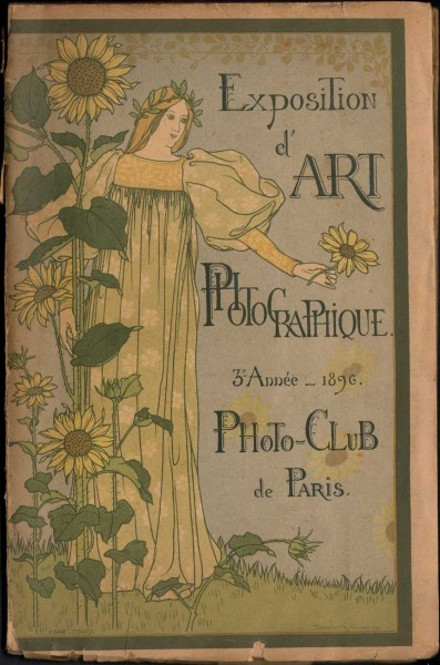 Cover: 1896 Exposition d'Art Photographique Salon Catalogue